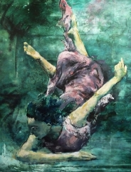 5.DivingDeep.30x36.Oil.KatarinaMeglic